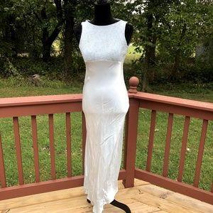 VTG 90s Zum Zum by Niki Livas Prom Wedding Dress